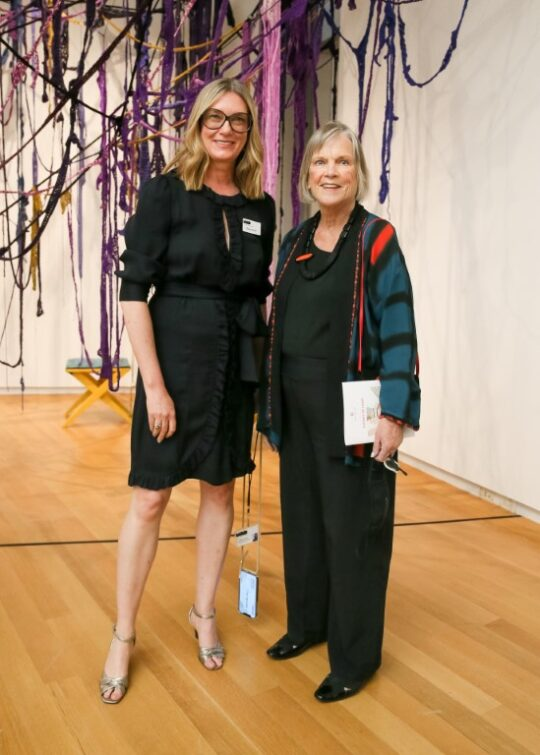 Elissa Auther Marian Burke 540x755 - Event Recap: Museum of Arts and Design Preview of New Exhibitions @MADmuseum