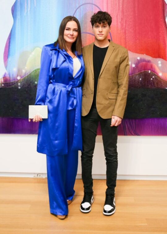Meredith Marks Brooks Marks 540x755 - Event Recap: Museum of Arts and Design Preview of New Exhibitions @MADmuseum