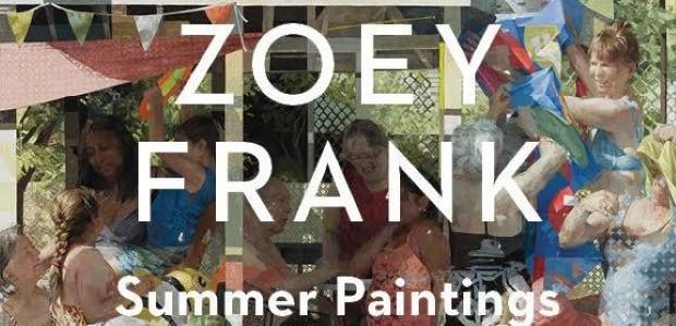 Zoey Flyer for IG c5d76d0f bdb3 46e6 8633 e3cab979ca8a 576x576 - Zoey Frank: Summer Paintings May 27- June 26, 2021 at Sugarlift