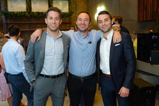 2 Darrell Handler JD Cohen Kyle Galin 540x360 - Renaissance Properties & Leasing Team Showcase New Lobby at 166 Crosby as #NYC Reopens @lawlormedia