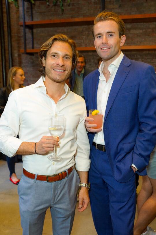 3 Jarad Winter Kyle Wainwright 540x810 - Renaissance Properties & Leasing Team Showcase New Lobby at 166 Crosby as #NYC Reopens @lawlormedia