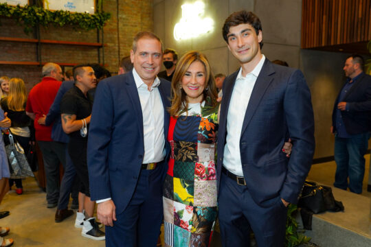 4 Ken Fishel Maria Fishel Bradley Fishel 540x360 - Renaissance Properties & Leasing Team Showcase New Lobby at 166 Crosby as #NYC Reopens @lawlormedia