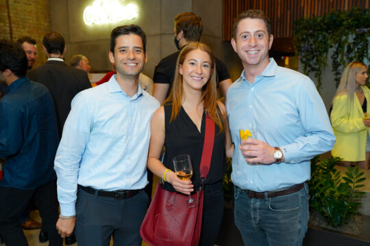 5 Harry Singer Libby Miller Matt Augarte 540x360 - Renaissance Properties & Leasing Team Showcase New Lobby at 166 Crosby as #NYC Reopens @lawlormedia