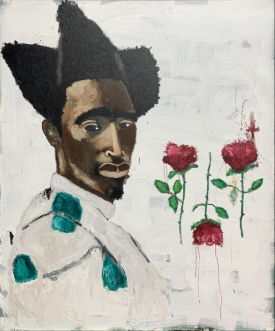 RonnieRob 3Loves 540x650 - 21 Piece Salute: Group Exhibition May 27 - June 19, 2021 at Black Wall Street Gallery