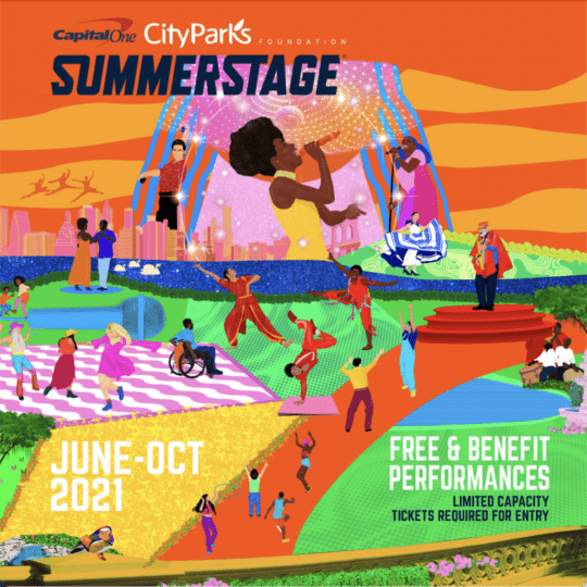 unnamed1 540x540 - Capital One City Parks Foundation @SummerStage announces 2021 season lineup