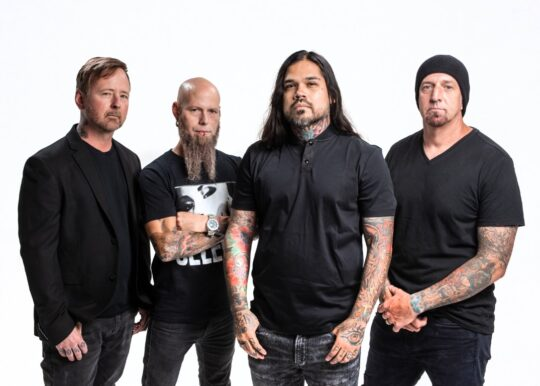 Drowning Pool Photo Credit Cade Cleavelin 540x386 - Craft Recordings and Drowning Pool celebrate 20th anniversary of 'Sinner' with vinyl release
