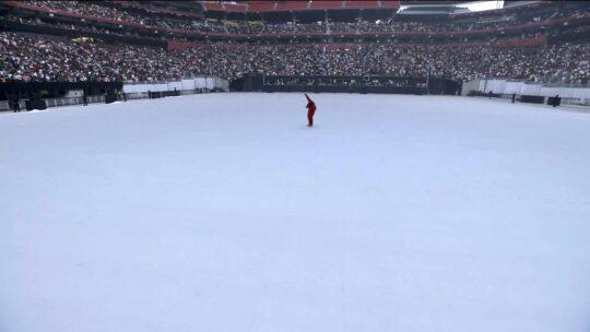 IMG 7971 540x304 - Kanye West unveiled his tenth solo studio album DONDA at Atlanta listening event