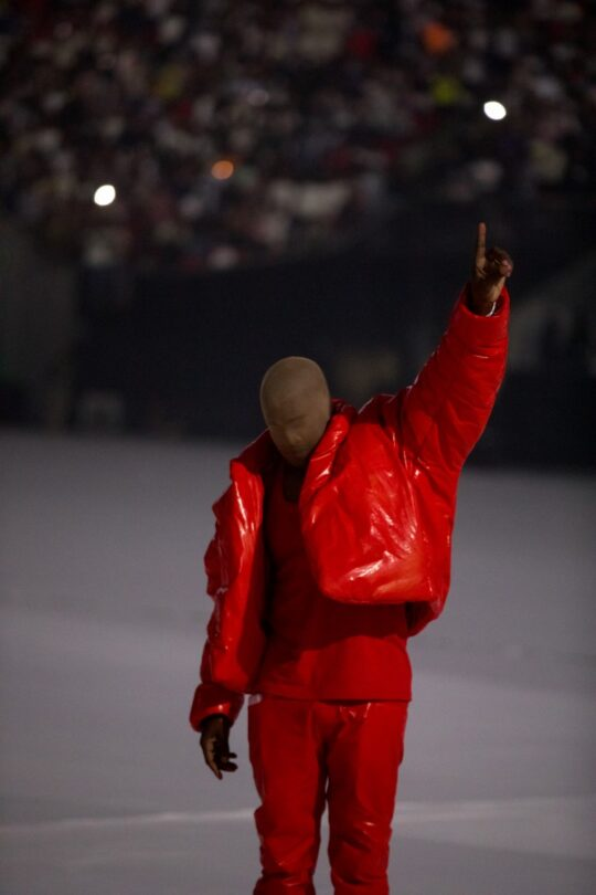JOHNCANONKANYEWEST 35 540x810 - Kanye West unveiled his tenth solo studio album DONDA at Atlanta listening event