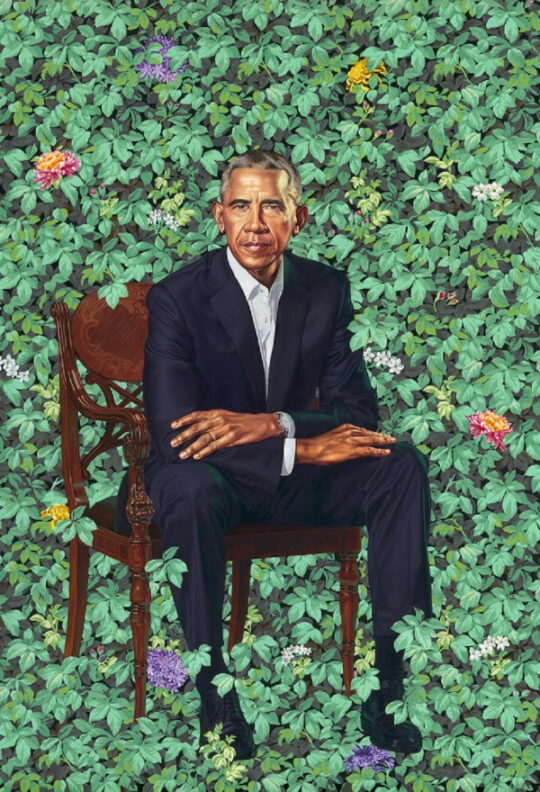 2020 The Obama Portraits PA NPG 18 55 Obama R low res 1000w 600 880 540x792 - The Obama Portraits Tour: August 27–October 24, 2021 at @BrooklynMuseum