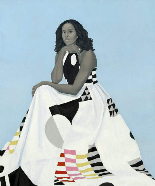 2020 The Obama Portraits PA NPG 18 57 M Obama R low res 1000w 600 719 540x647 - The Obama Portraits Tour: August 27–October 24, 2021 at @BrooklynMuseum