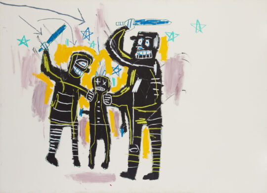 full 03 540x390 - Jean-Michel Basquiat: King Pleasure©  Exhibition to Open April 9, 2022 in NYC