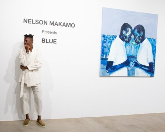 BFA 33044 4472172 540x432 - DeLeón Tequila celebrates Nelson Makamo's first solo US exhibition BLUE in Los Angeles