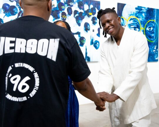 BFA 33044 4472181 540x432 - DeLeón Tequila celebrates Nelson Makamo's first solo US exhibition BLUE in Los Angeles