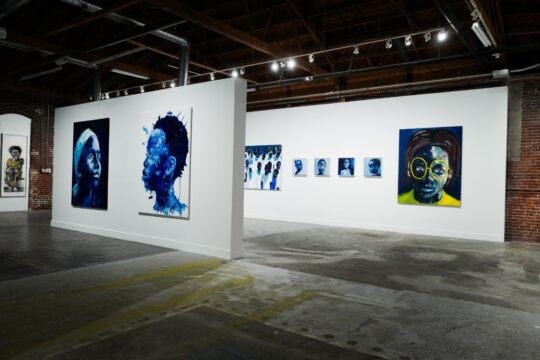 BFA 33044 4472195 540x360 - DeLeón Tequila celebrates Nelson Makamo's first solo US exhibition BLUE in Los Angeles