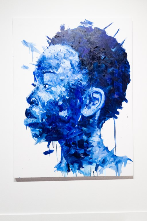 BFA 33044 4472197 - DeLeón Tequila celebrates Nelson Makamo's first solo US exhibition BLUE in Los Angeles