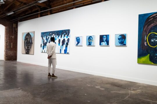 BFA 33044 4472201 540x360 - DeLeón Tequila celebrates Nelson Makamo's first solo US exhibition BLUE in Los Angeles