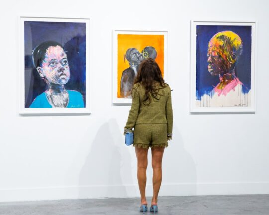 BFA 33044 4472278 540x432 - DeLeón Tequila celebrates Nelson Makamo's first solo US exhibition BLUE in Los Angeles