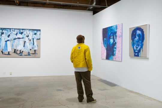 BFA 33044 4472288 540x360 - DeLeón Tequila celebrates Nelson Makamo's first solo US exhibition BLUE in Los Angeles