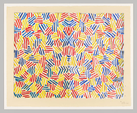 large 2020 142 cropped 540x446 - Jasper Johns: Mind/Mirror Sept 29, 2021–Feb 13, 2022 at the Whitney Museum