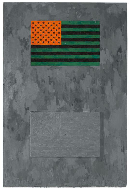 medium P150 Flags 1965 540x797 - Jasper Johns: Mind/Mirror Sept 29, 2021–Feb 13, 2022 at the Whitney Museum